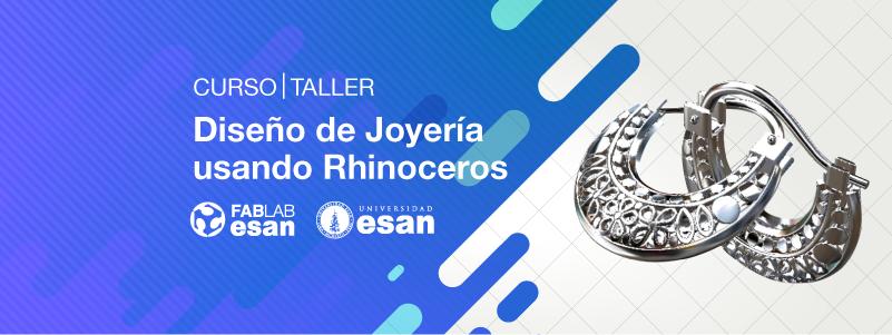 92d1bd938f45 Inicio 28 de enero 2019  Curso Diseño de Joyería Usando Rhinoceros 3D Nivel  1